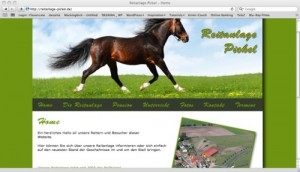 Reitanlage Pickel